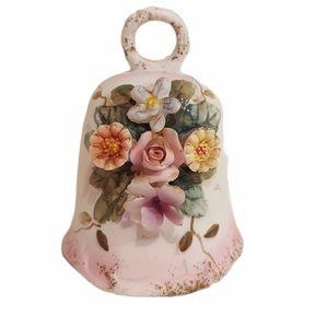 Floral Ceramic Bell
